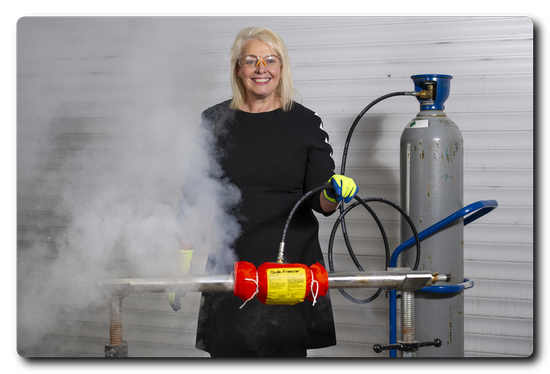 Georgia Gascoyne, CEO of weld purging technology manufacturer