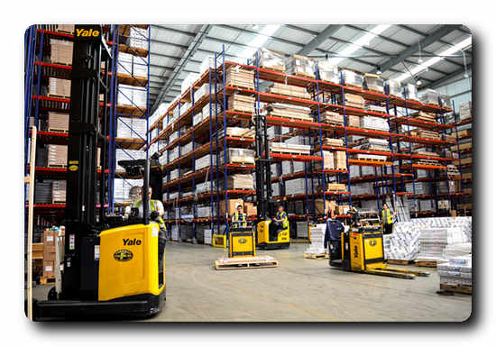 The Yale solution at work in Stelrad's National Distribution Centre