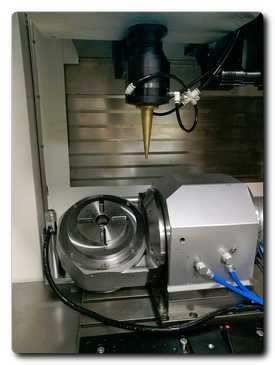 The ML125 machining centre has a dual laser head capable of both high speed and high quality cutting.