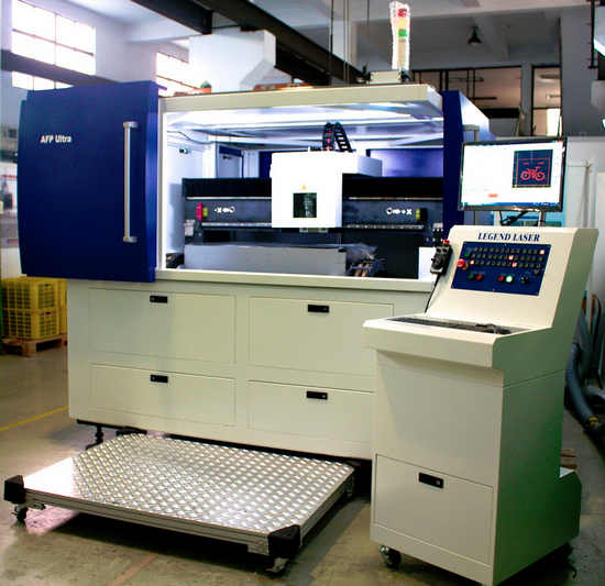 Legend Laser's new SRC-610 precision sheet metal laser cutting system is based entirely on NUM's Flexium+ CNC platform.