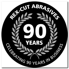 rex cut 90 year logo