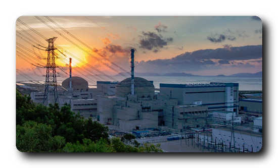 In June 2018 the nuclear power plant Taishan 1 in China was connected to the power grid for the first time. Source: EDF