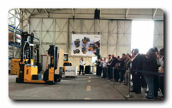MC15 Robotic Counterbalance Stacker presented at This is Yale