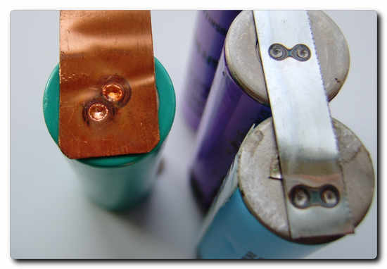 Figure 3 shows an example of a battery tab welding application.